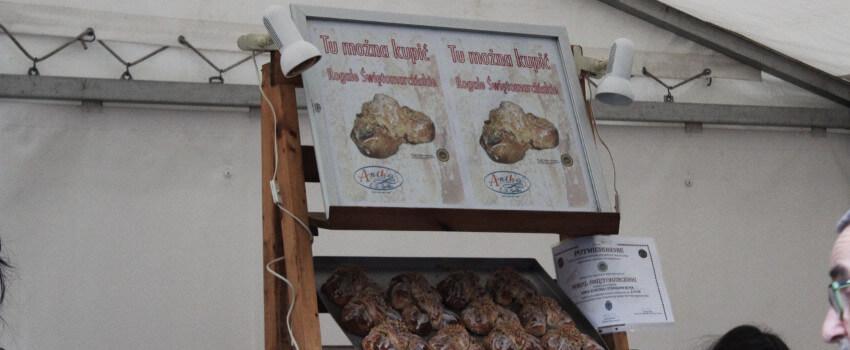 Verkaufsstand St. Martin Croissants Unabhängigkeitstag Posen