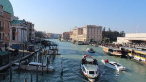 Blick auf Grand Canal