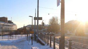 winter finnland helsinki