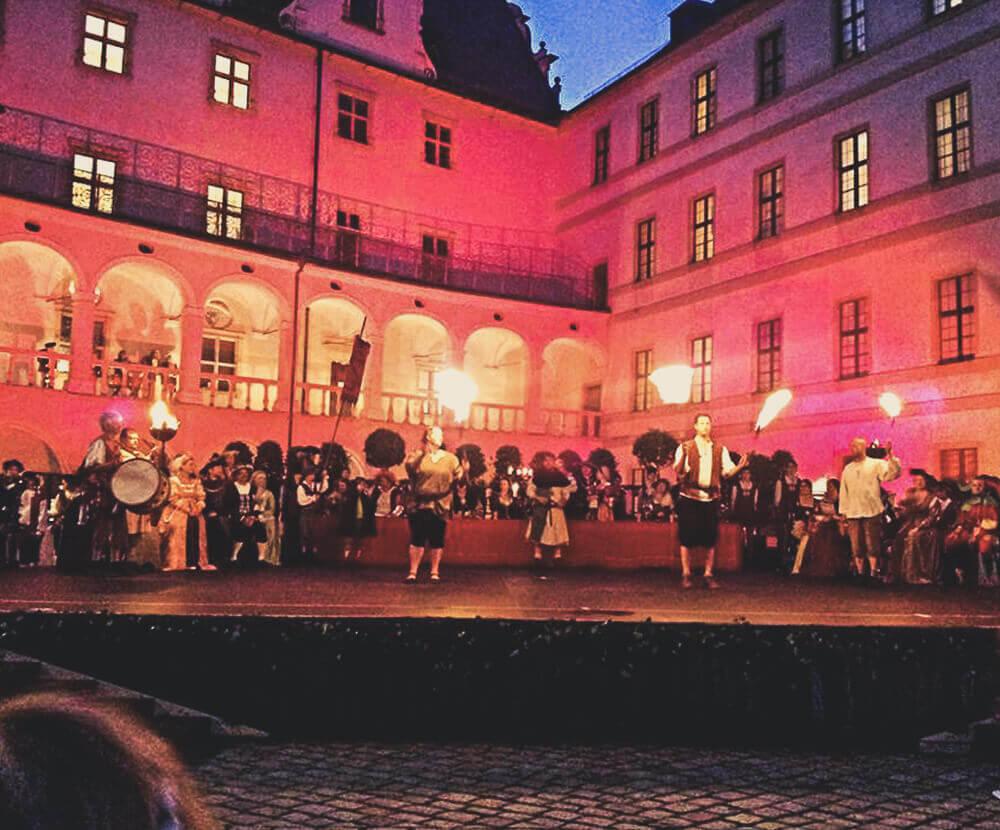 Feuerspiele Neuburger Schlossfest