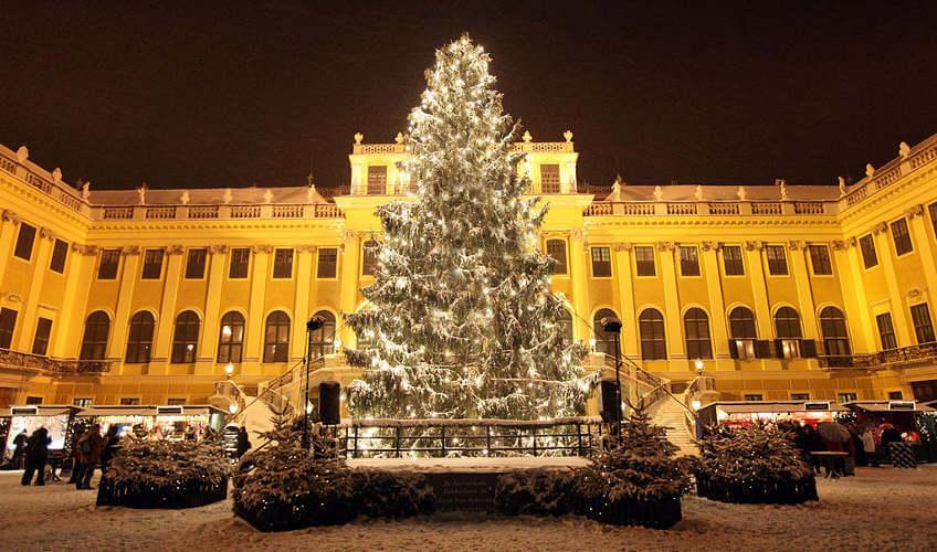 Weihnachtsmarkt in Wien Schloss Schönbrunn