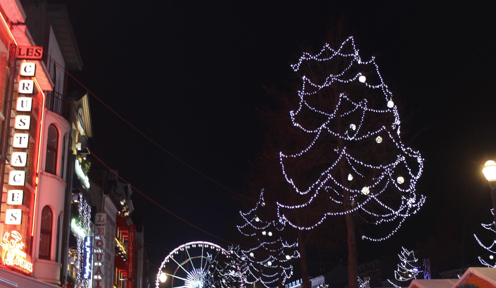 Weihnachtsmarkt in Brüssel