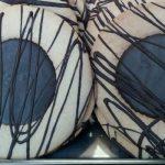 Kekse aus Mürbteig mit Schokoladenkern