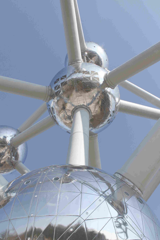 Atomium in Brüssel, Belgien