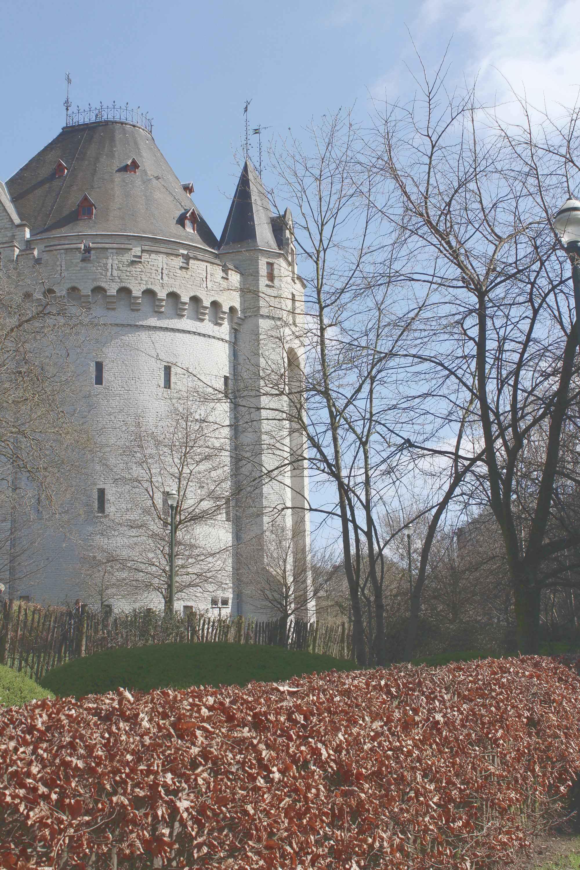 Letztes erhaltenes Stadttor Brüssels: Porte de Hale