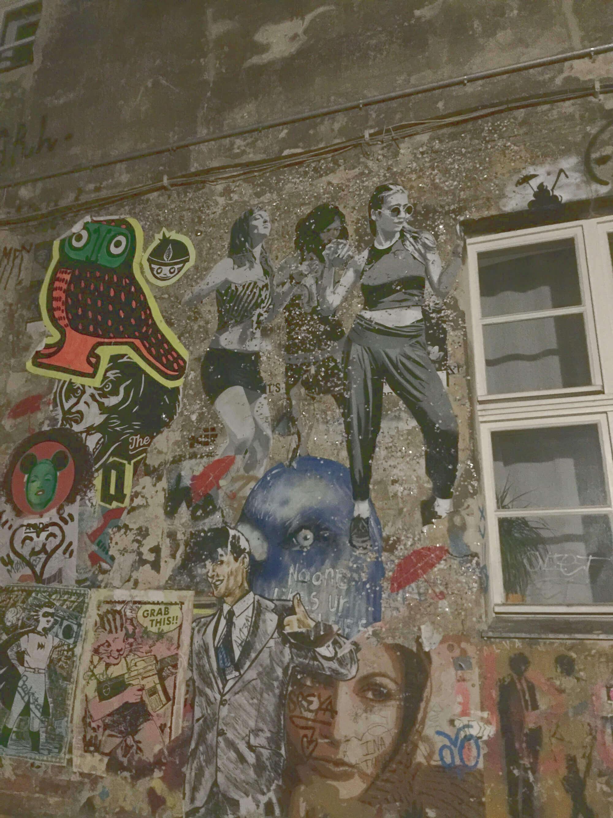 Streetart in den Hackeschen Höfen