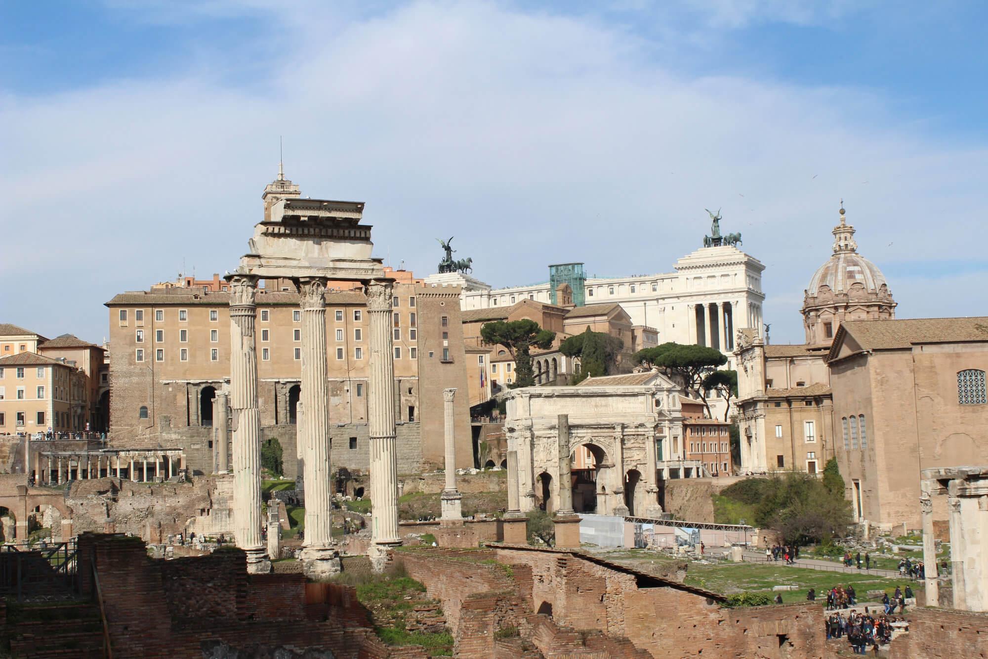 Instagram-Spot Rom: Forum Romano
