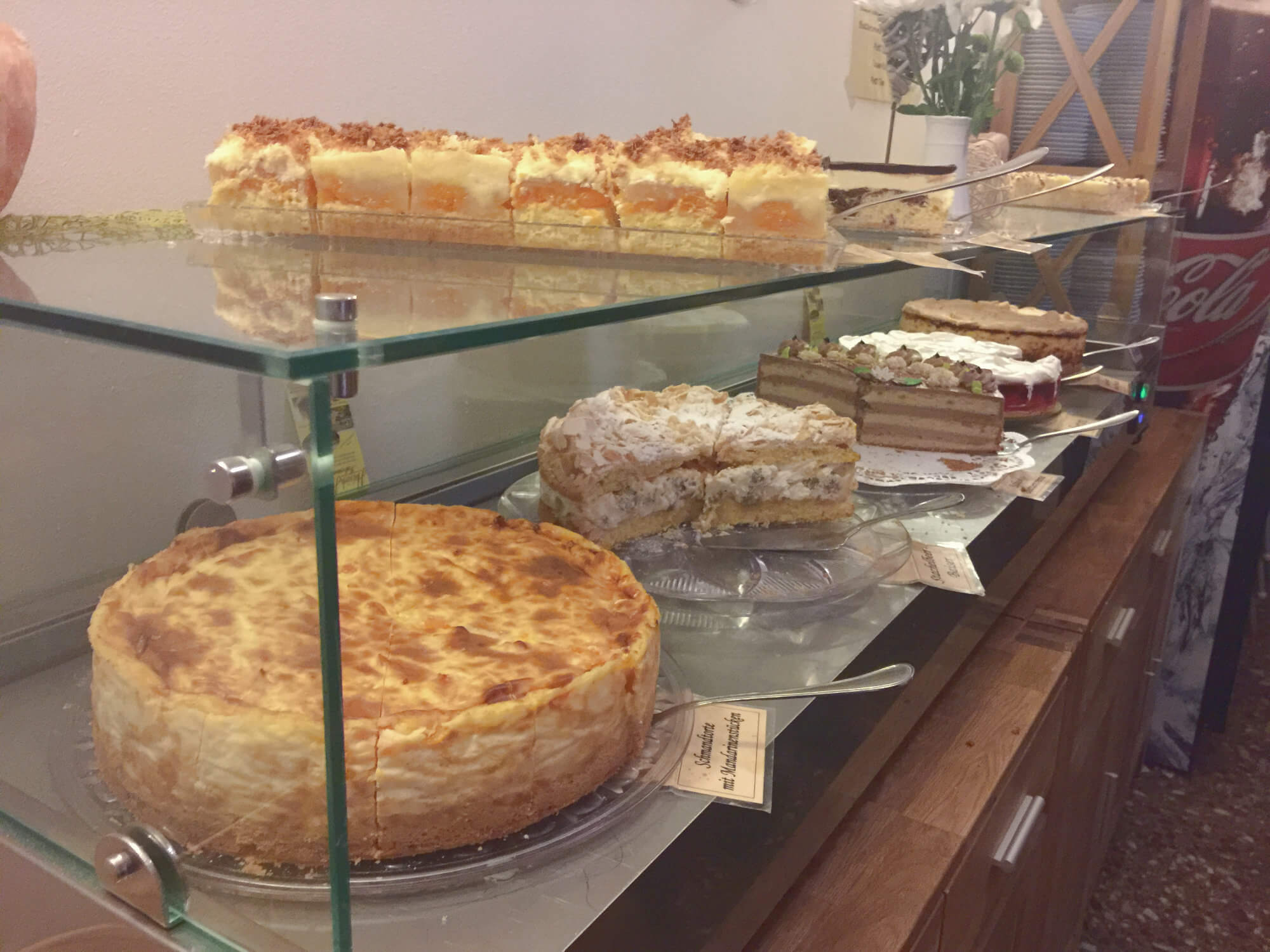 Thüringer Blechkuchen und Schmandtorten
