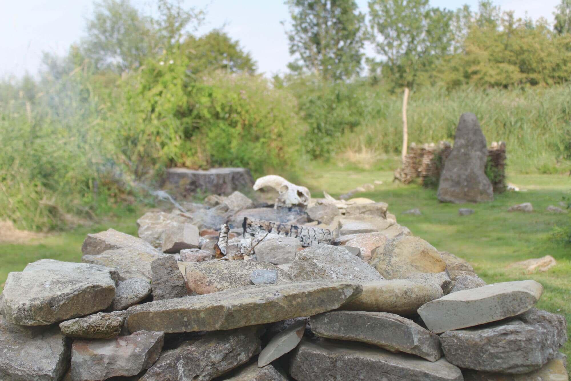 Opferalter im Opfermoor Voigt in der Welterberegion Wartburg-Hainich in Thürignen