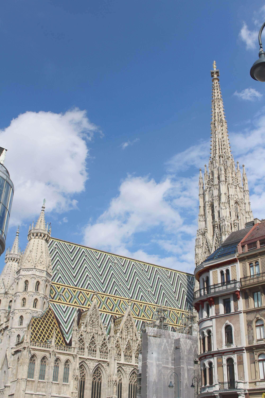 Blick auf Stephansdom in Wien