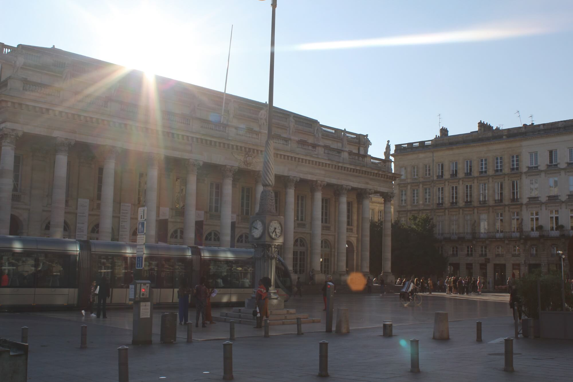 Metro am Grand Theatre in Bordeaux