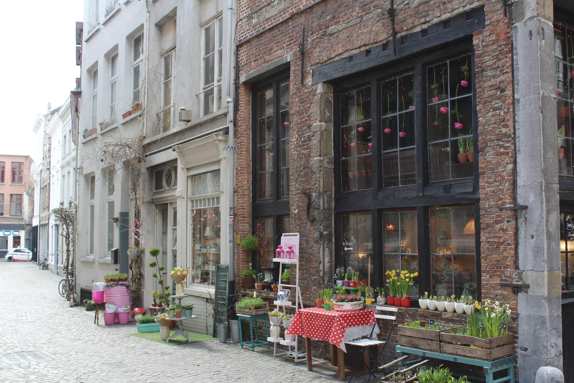 Blumenladen in Antwerpen