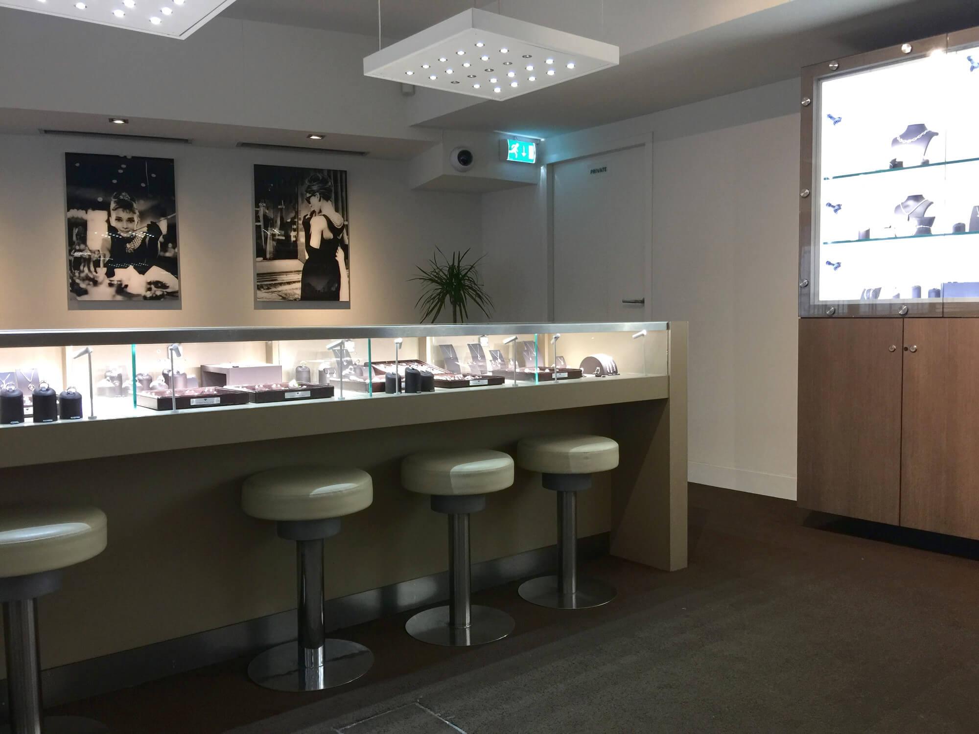 Diamantenjuwelier in Antwerpen