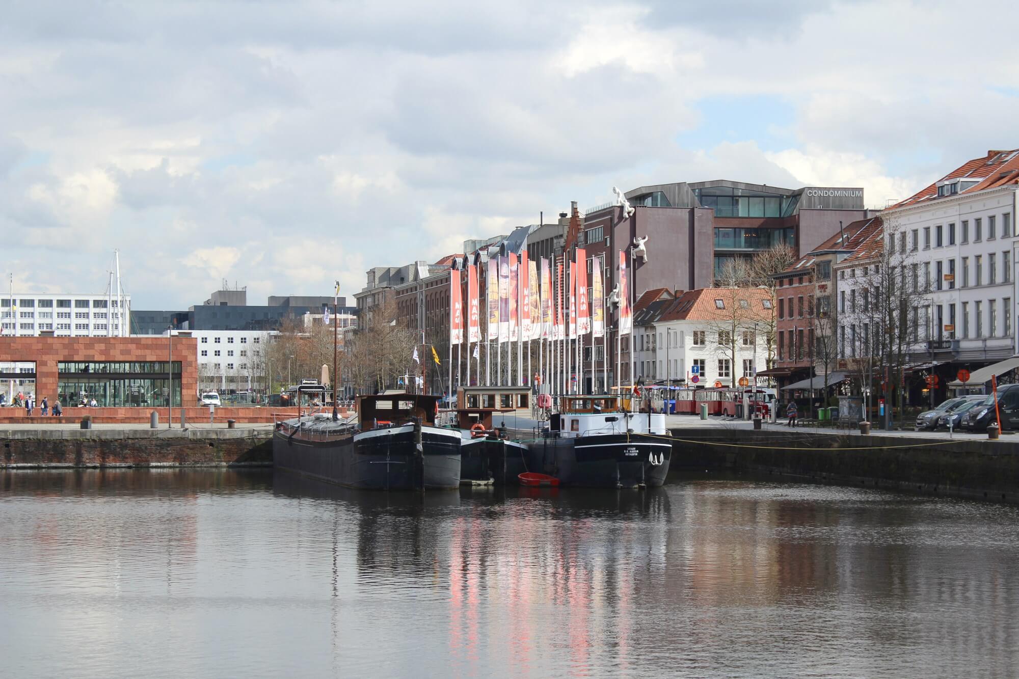Hafen in Antwerpen