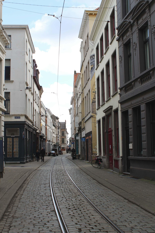 Straße in Antwerpen