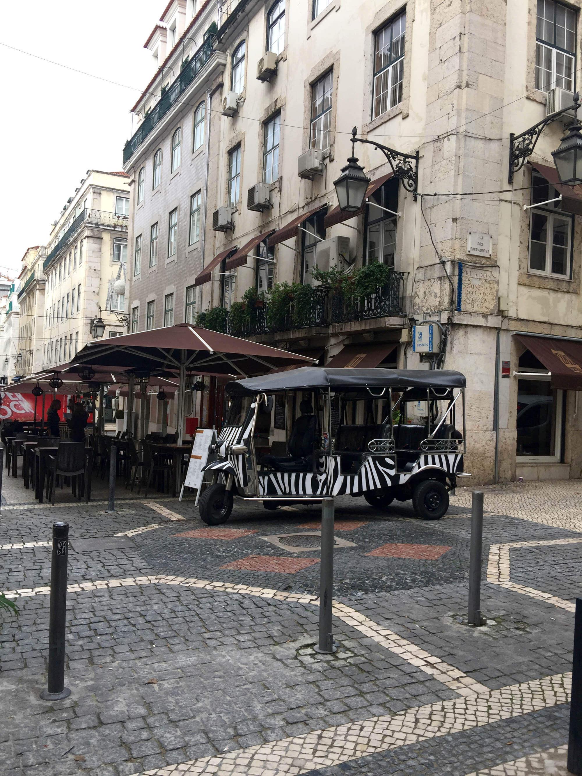 Tuck tuck in Lissabon