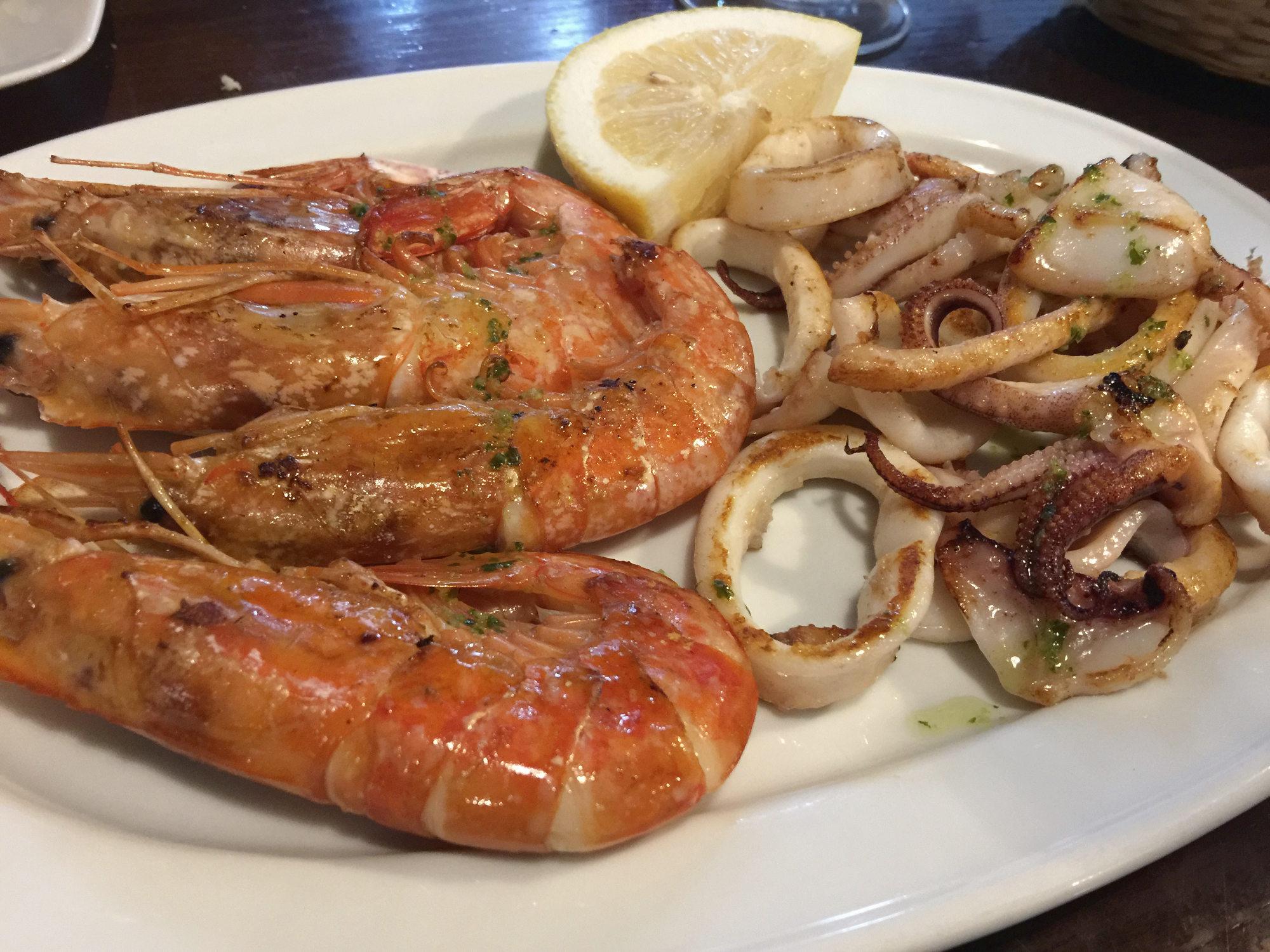 Meeresfrüchte und Fisch auf Mallorca
