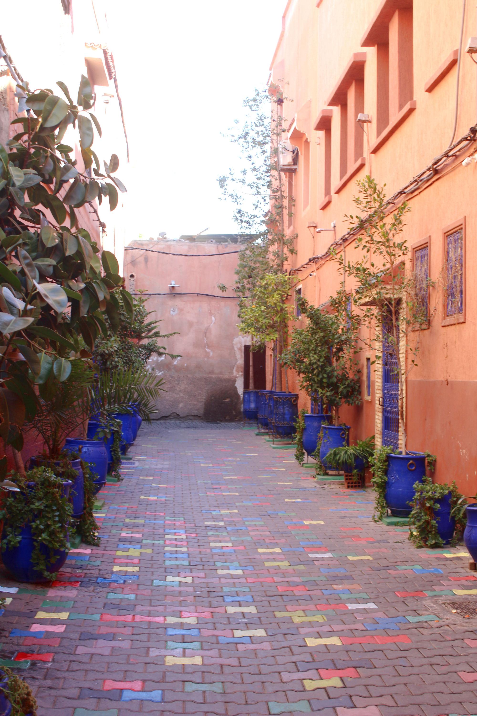 Hinterhof in Marrakesch