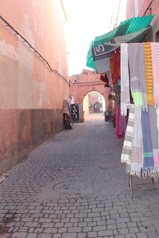 Straßen von Marrakesch