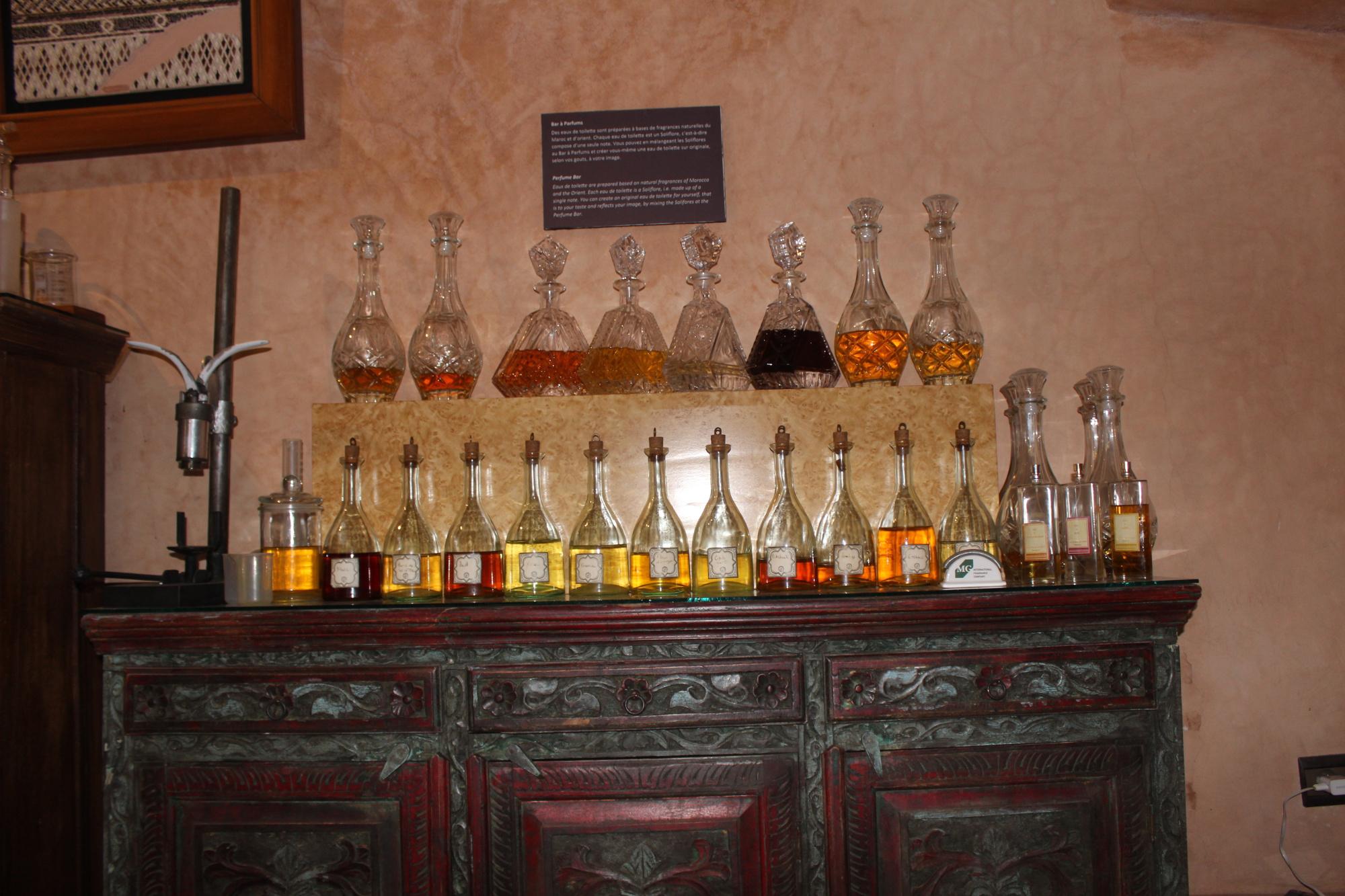 Sehenswürdigkeiten Marrakesch: Musée du Parfum Marrakesch - Parfum selbst machen