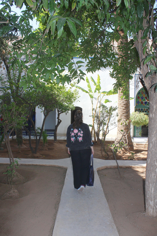 Sehenswürdigkeiten Marrakesch: Palais de la Bahia Garten