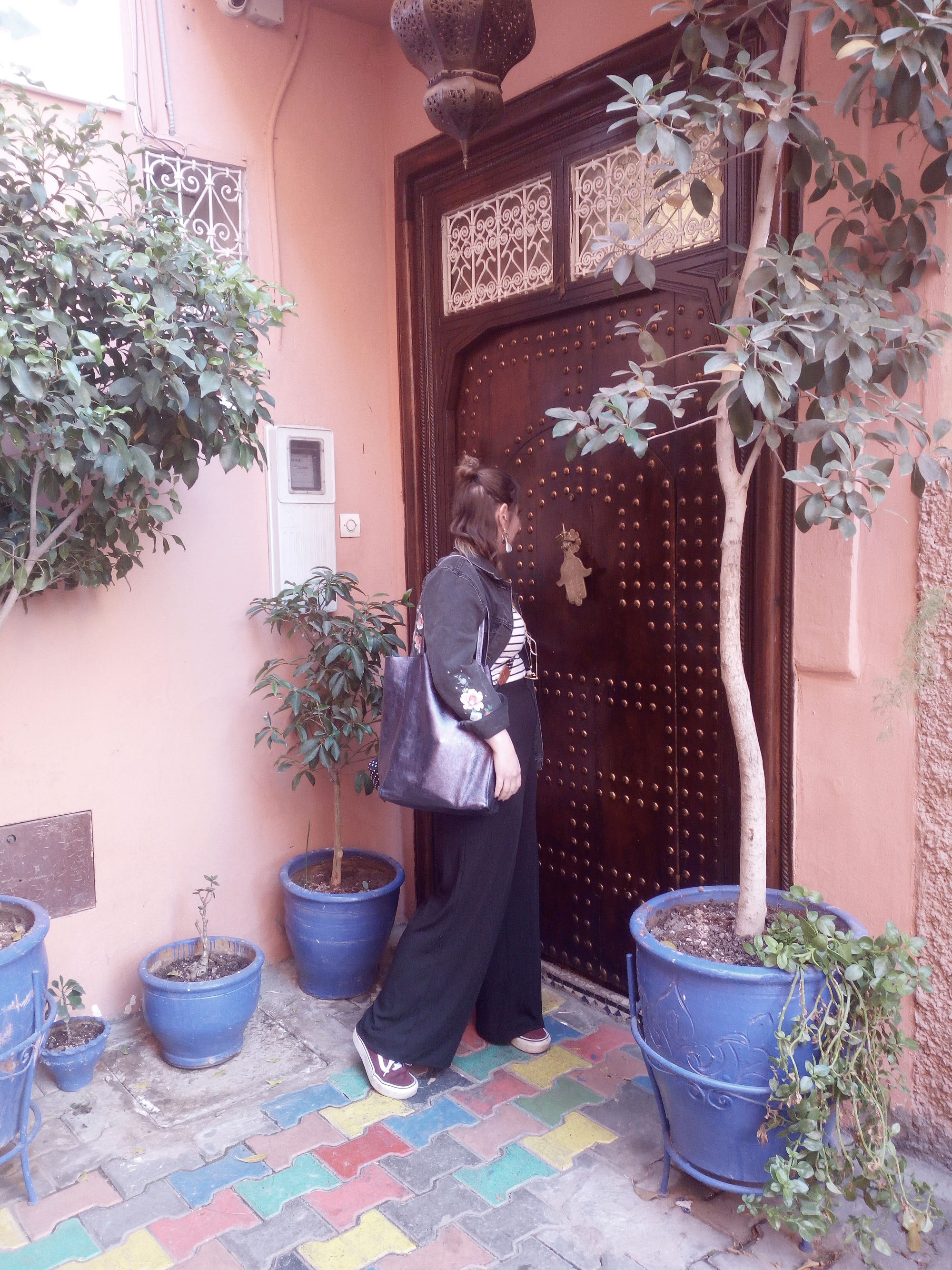 Sehenswürdigkeiten Marrakesch bunte Hinterhöfe