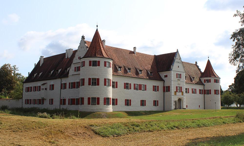 Schloss Grünau in Neuburg an der Donau