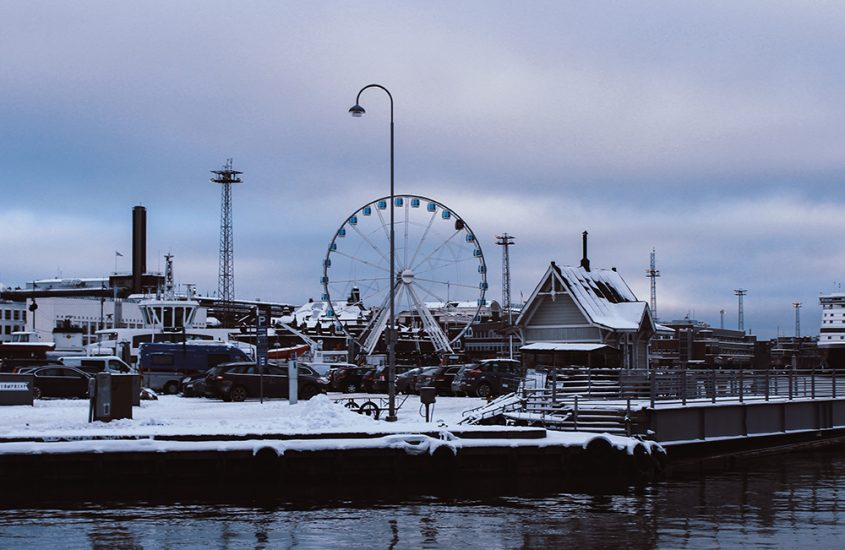 Hafen von Helsinki