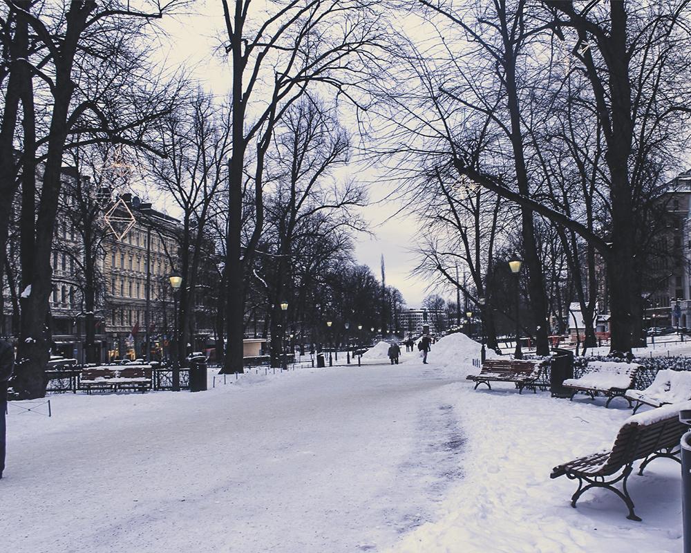 Esplanadi in Helsinki