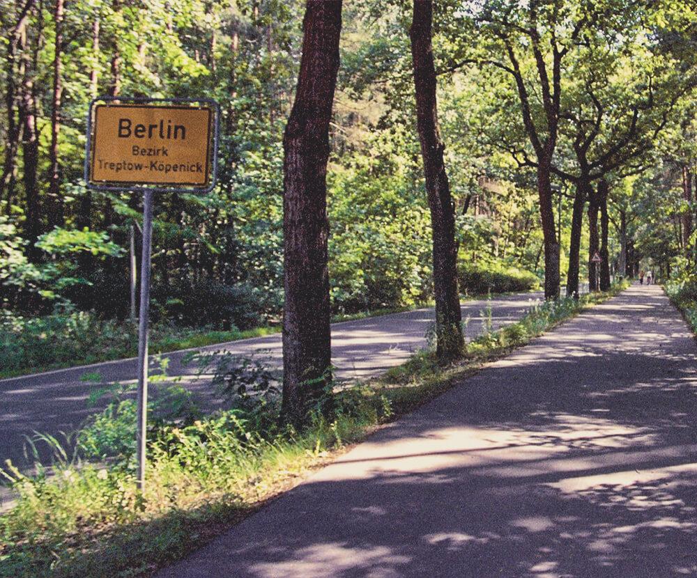 Ortsschild Berlin Treptow-Köpenick