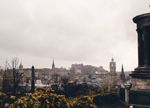 Ausblick Claton Hill Edinburgh
