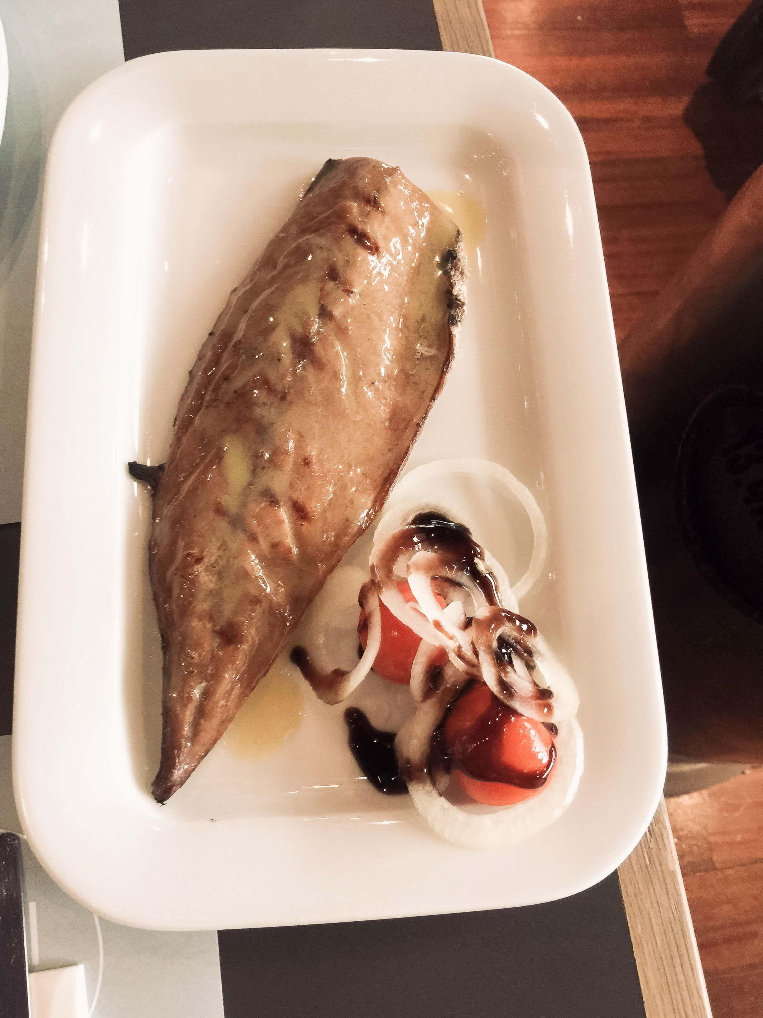 Griechischer Fisch im Agioli in Thessaloniki