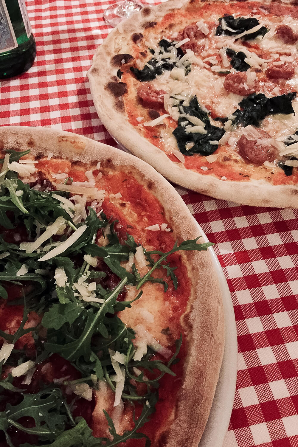 Italienische Pizza im Corallo in Berlin-Wedding