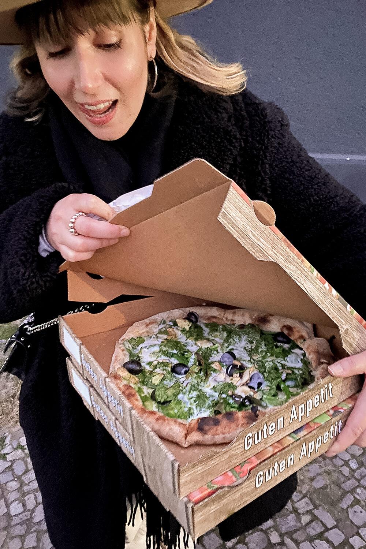 Vegane Pizza von Sotto in Berlin