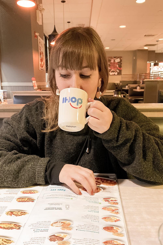 Frühstücken bei IHOP in New York