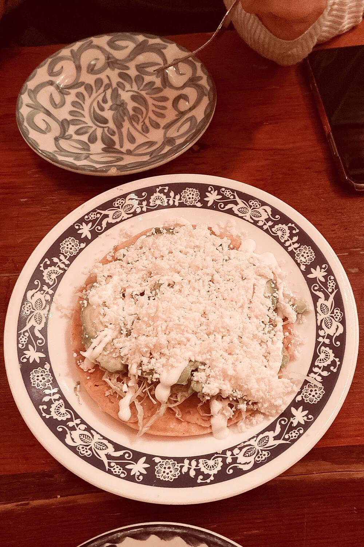 Mexikanisches Essen in Chavela's in Brooklyn-New York