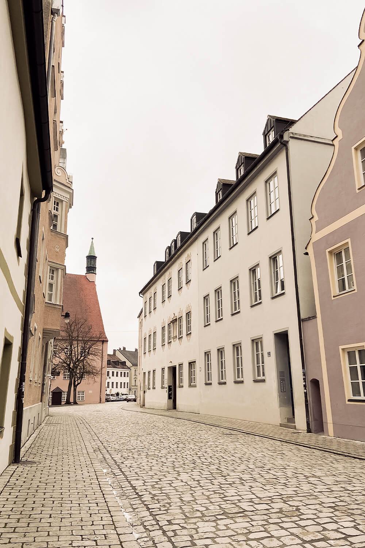 Gassen Altstadt Ingolstadt