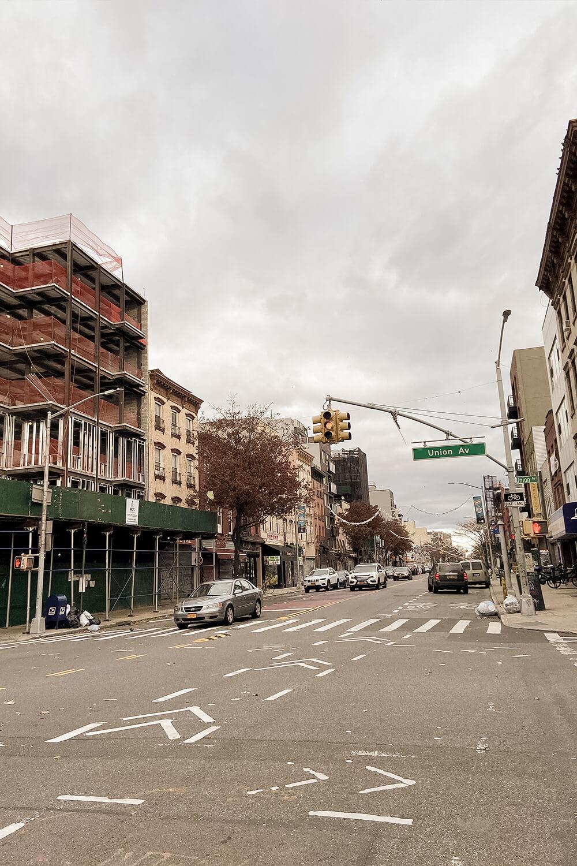 Straßen in Williamsburg, New York