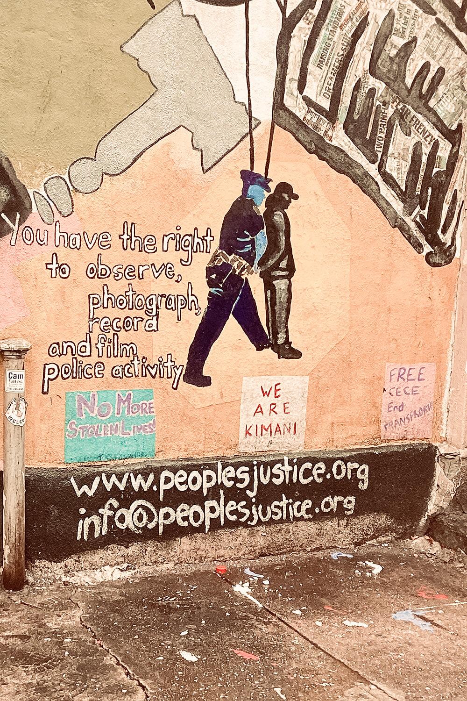 Street Art in Harlem, New York