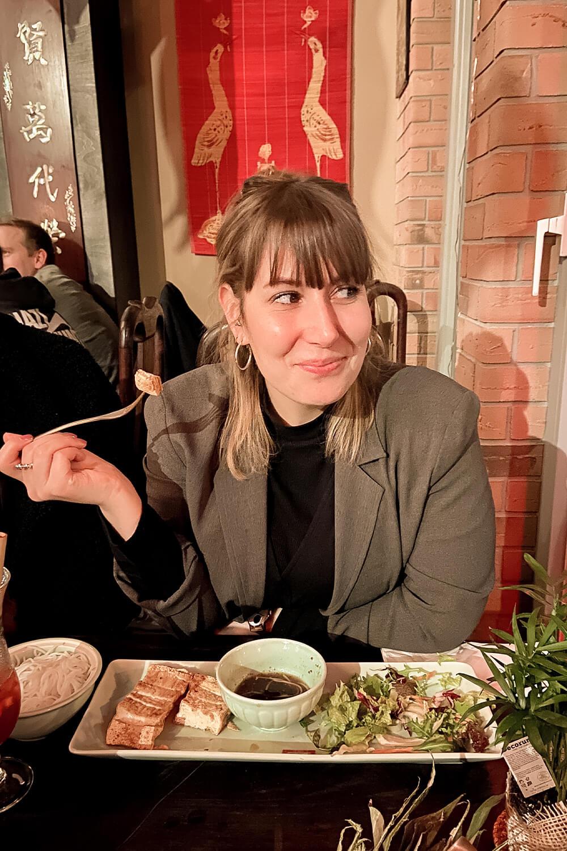 veganes vietnamesisches Essen