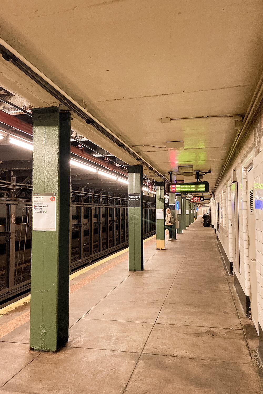 Bahnhof in New York