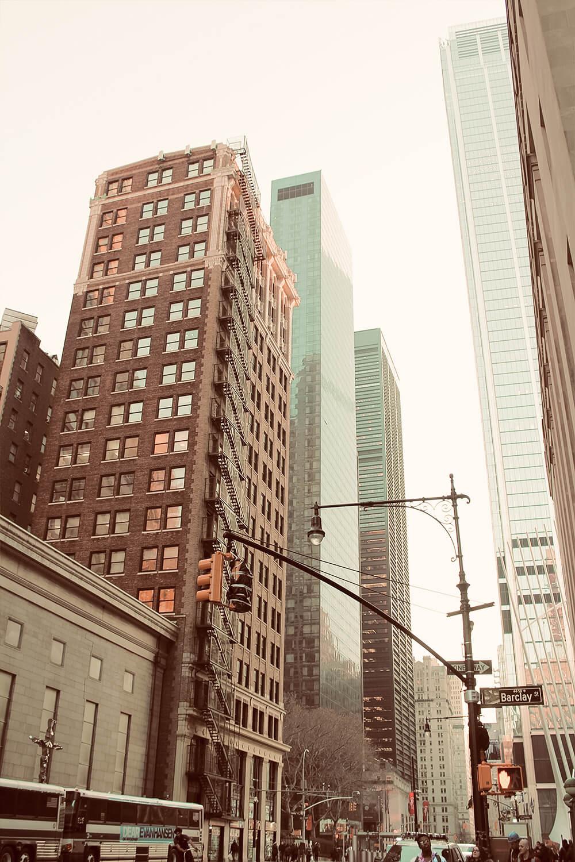 Straße on New York
