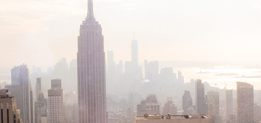 Blick vom Top of The Rock in New York