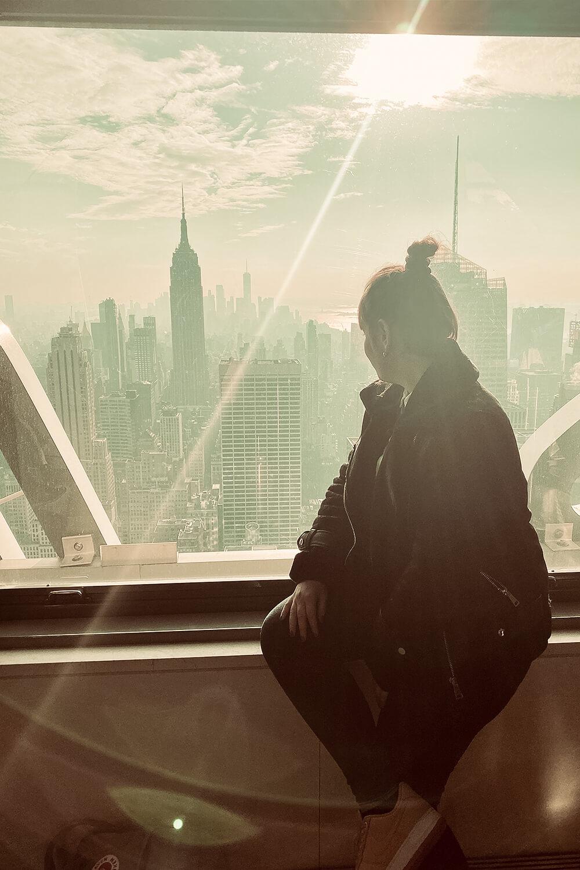 Ausblick vom Top of the Rock in New York