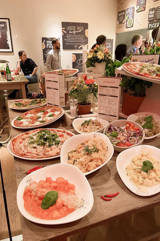 Vapiano neue Speisekarte