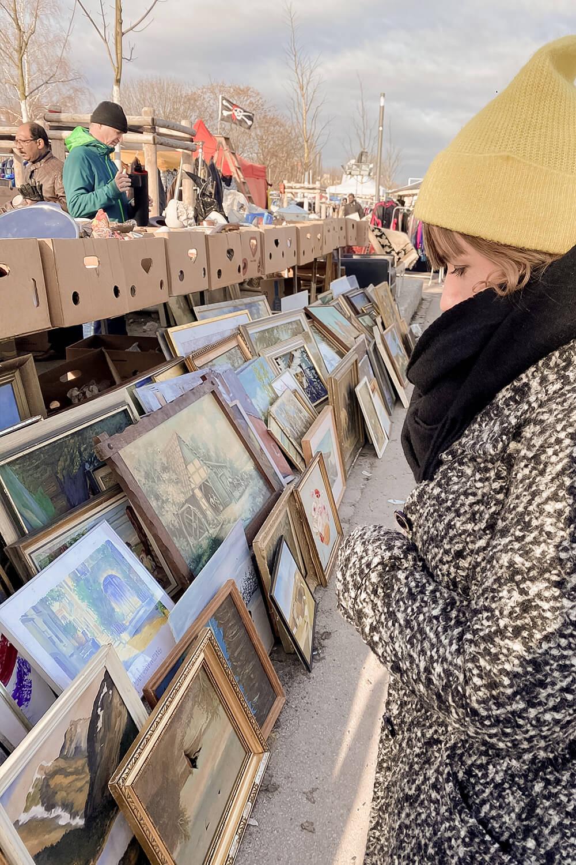 Mauerpark-Flohmarkt Prenzlauer Berg
