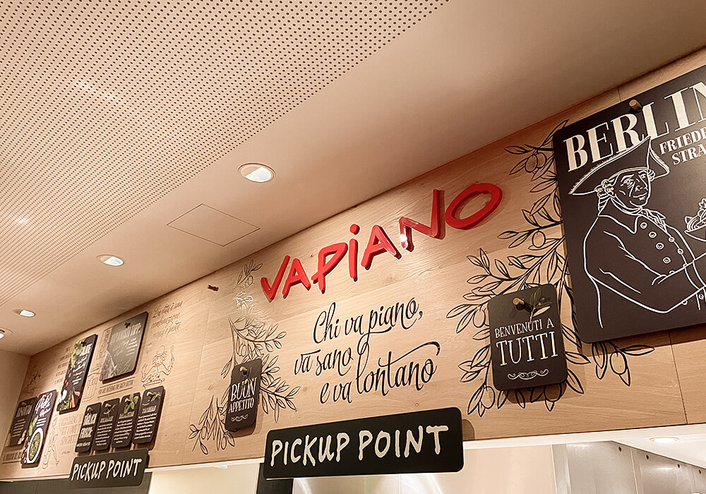 Vapiano Pickup Point