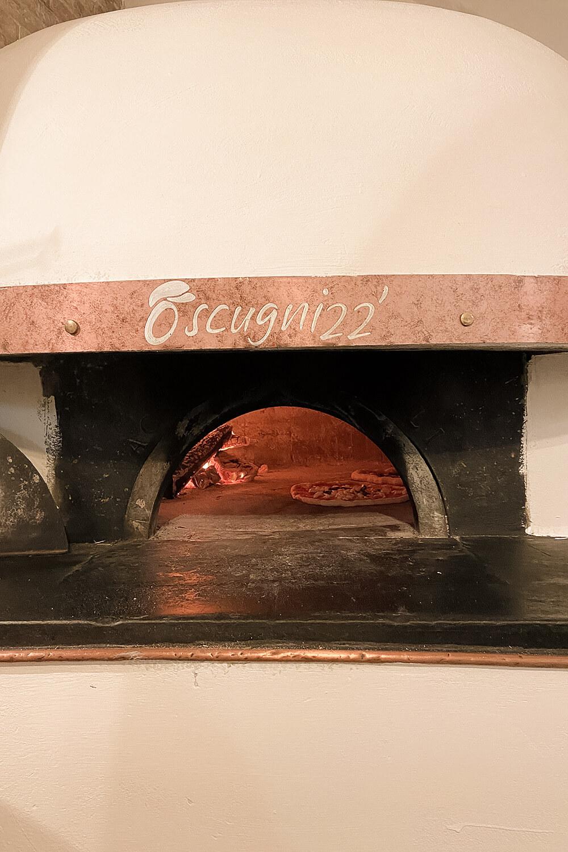 Original italienischer Steinofen für Pizza