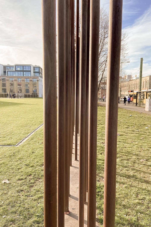 Mahnmal Berliner Mauer Bernauer Straße Berlin-Prenzlauer Berg