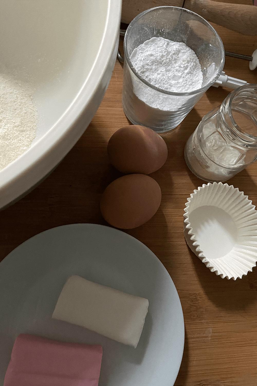 Zutaten für Ostermuffins